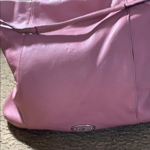 Coach pink satchel bag 13 x 13